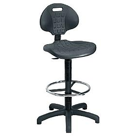 Factory Adjustable Ergo Poly Draughtsman Chair
