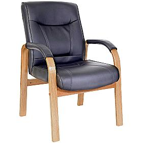 Kingston Leather Visitor Chair