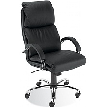 Nadir Leather Manager Chair