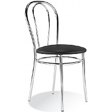 Tulipan Vinyl Cafe Chair