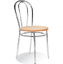 Tulipan Beech Cafe Chair
