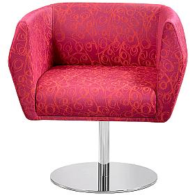 Premium HB1 Disc Base Fabric Reception Chairs