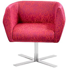 Premium HB1 Cruciform Leg Fabric Reception Chairs
