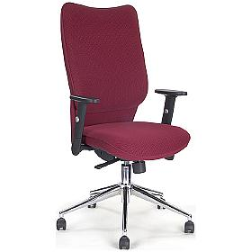 Naples Shirt Tail Fabric Manager Chair