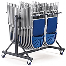 Low Hanging Chair Trolley - 2 Rows