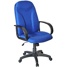 Perth Manager Chair Blue