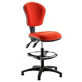 Ascot Medium Back Draughtsman Chair