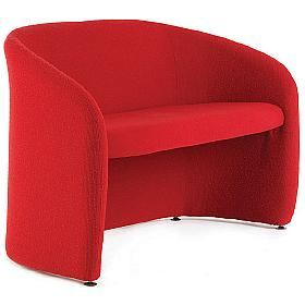 Fabric 2 Seat Tub Chair
