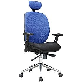 Ocean Mesh Chair Blue
