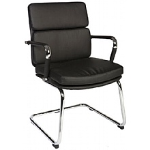 Deco Visitor Chair Black
