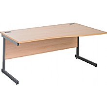 Next Day Eco Cantilever Wave Desks