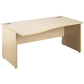Next Day Eco Panel End Wave Desks