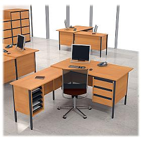 Next Day Pinnacle L-shape Desks