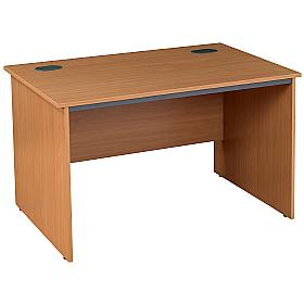 Pinnacle Rectangular Panel End Desk