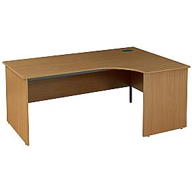 Pinnacle Ergonomic Panel End Desk