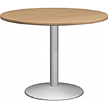 Round Table With Column leg