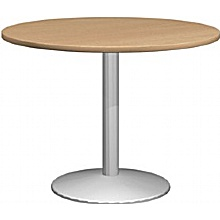 Pinnacle Plus Round Table With Column leg