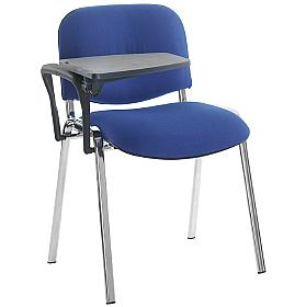Fleet Chrome Frame Conference Chair With Writing T
