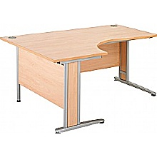 Arena Contract Plus Ergonomic Cantilever Desk