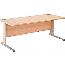 Arena Contract Plus Shallow Cantilever Desk