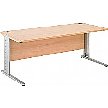 Arena Excecutive Rectangular Cantilever Desk