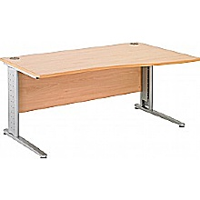 Arena Excecutive Wave Cantilever Desks