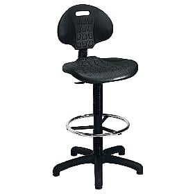 Lab Ergo Poly Draughtsman Chair