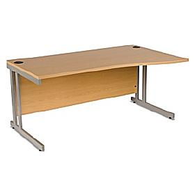 Infinity Cantilever Wave Desk