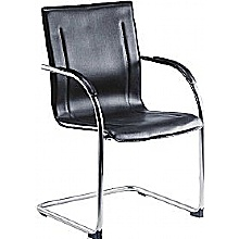 Guest Leather Look Visitor Chair (Pack of 5)