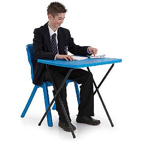 Titan Folding Exam Desk