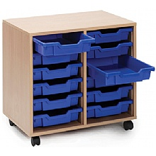 Scholar 12 Shallow Tray Storage