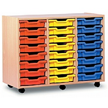 Scholar 24 Shallow Tray Storage
