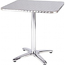 Rio Aluminium Square Bistro Table