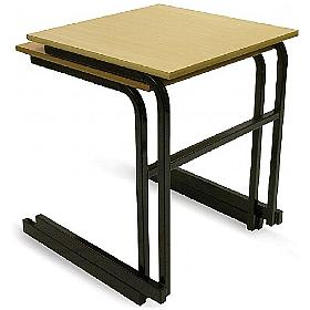 Scholar Heavy Duty Cantilever Stacking Exam Desks