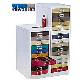 Silverline Kaleidoscope Multi Drawer Cabinets