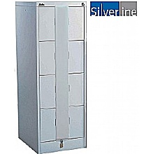 Silverline Secure Midi Filing Cabinets