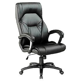 Wellington Executive Leather High Back Chair