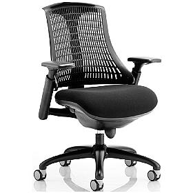 Flex Black Ergonomic Task Chair