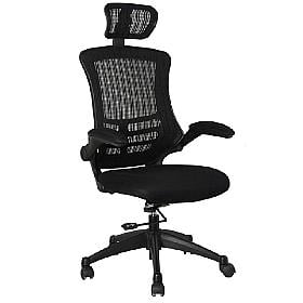 Spider Mesh Manager Chair (With Headrest)