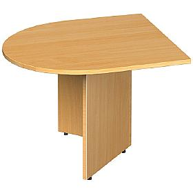 Elegance D-End Extention Table