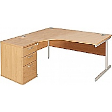 Elgin Combi Cantilever Desk