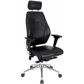 Platinum 24-7 Executive Top Leather Posture Chair