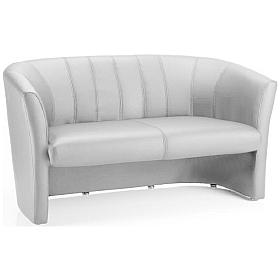 Evo White 2 Seater Tub Chair