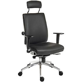 Ergo Plus 24 Hour Executive Leather Operator With