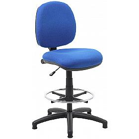Comfort Fabric Draughtsman Chair