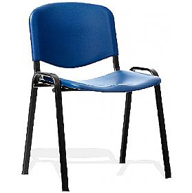 Swift Black Frame Plastic Conference Chair(Pack of