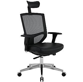 Jota 24Hr Ergonomic Mesh & Leather Task Chair