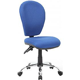 Lento 3-Lever Chrome Operator Chair