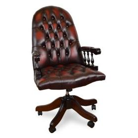 Antique Replica Mountbatton Desk Chair