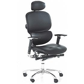 Active 24hr Ergonomic Full Leather (With H